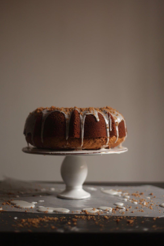 Coconut Graham Bundt Cake