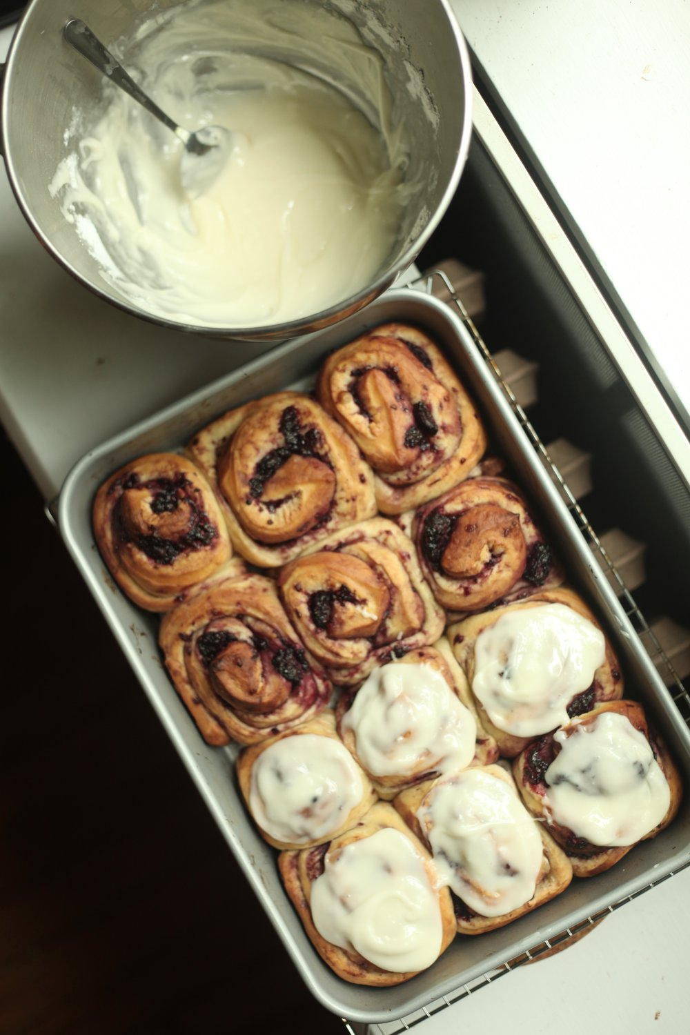 Blackberry Lime Buns 2
