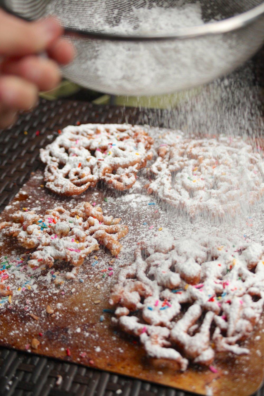 Funfetti Funnel Cake 1