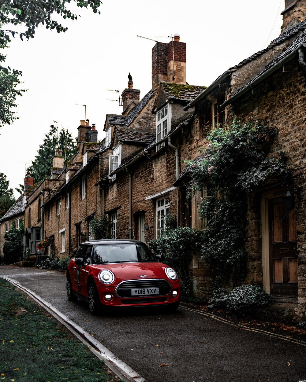 Mini Cooper at Burford