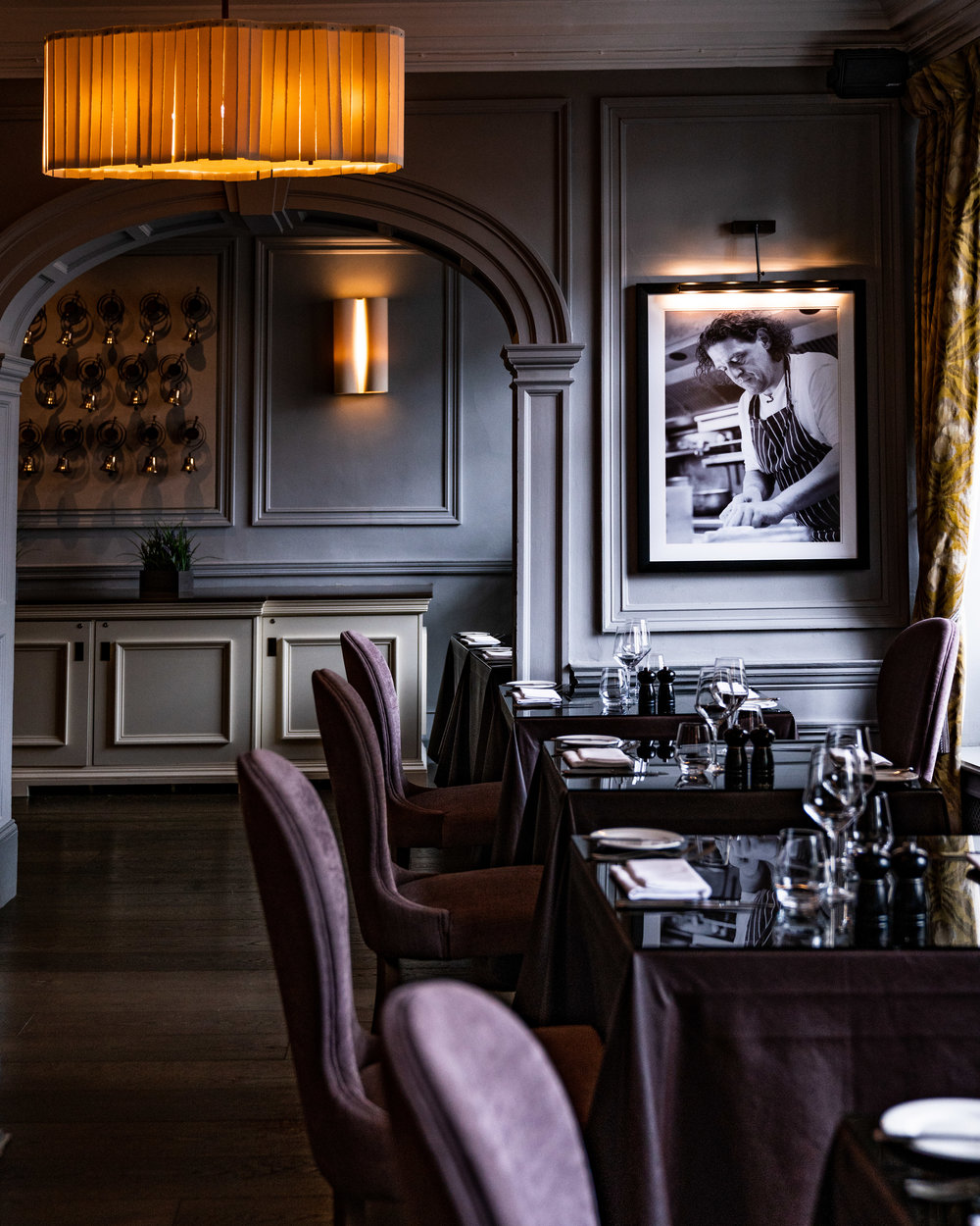 Marco Pierre White Restaurant in Castle Hotel MGallery Sofitel Windsor