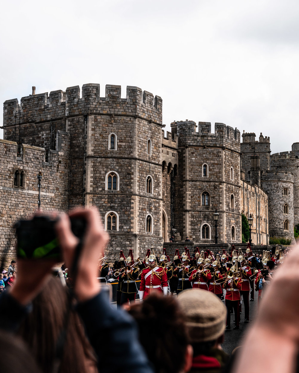 Changing of the guards, Windsor Castle