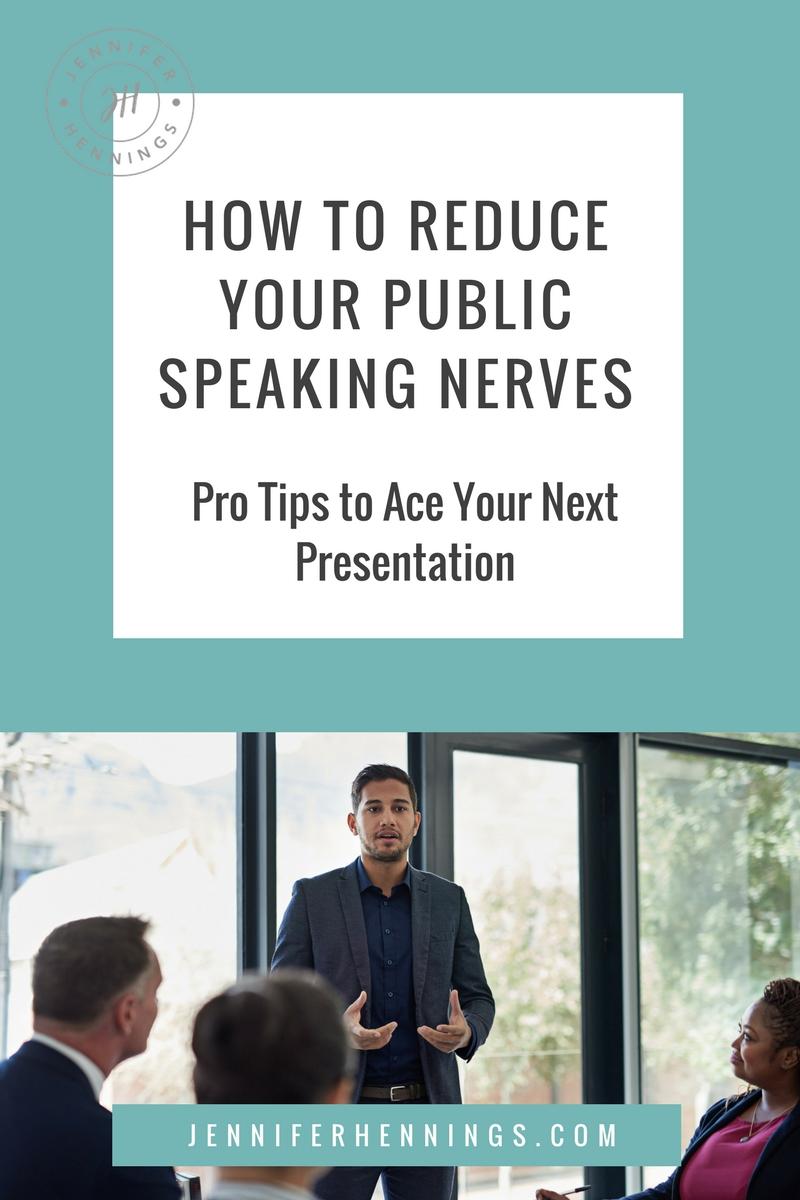 presentation anxiety help