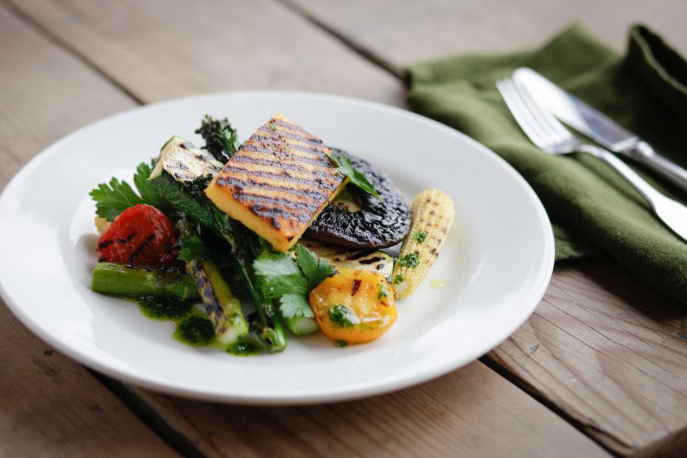 VEGETARIAN FEAST - Fresh, Seasonal Vegetarian Feasts from £45 per person