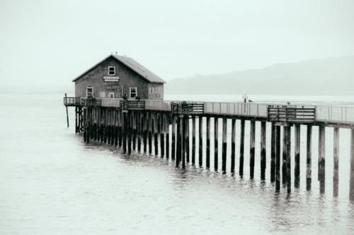 Garibaldi is home to the historic Coast Guard Boathouse.
