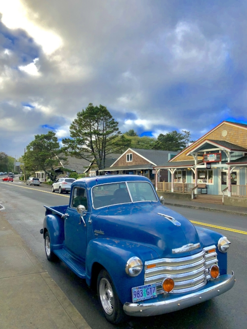 Downtown Cannon Beach, Oregon