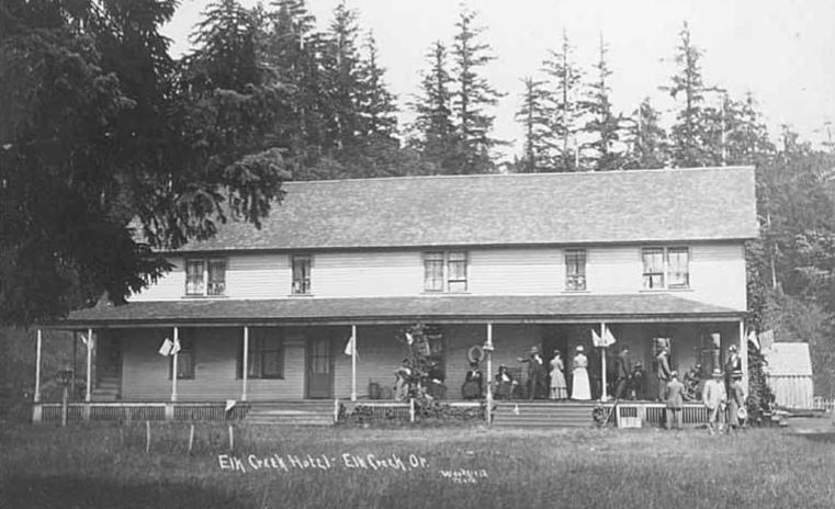 Elk Creek Hotel, Elk Creek, Oregon
