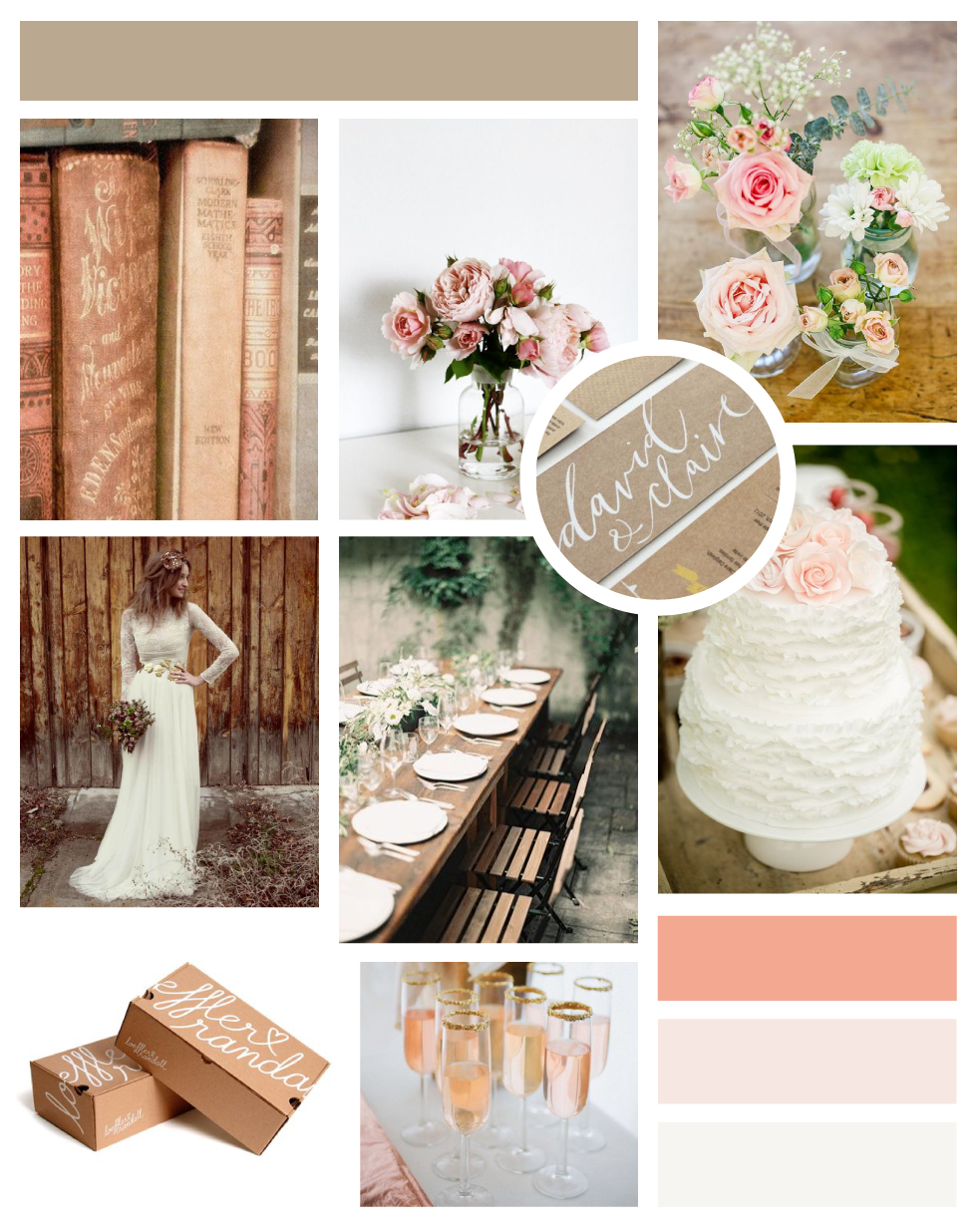 Dearest & Darling Event Planning Mood Board
