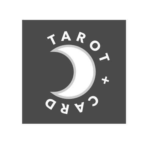 Tarot & Card Moon Logo Concept