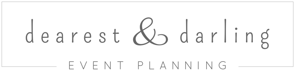 Dearest & Darling Event Planning Logo