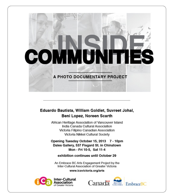Various Artists - INSIDE COMMUNITIES: A PHOTO DOCUMENTARY PROJECTOct 15 - 26 2013