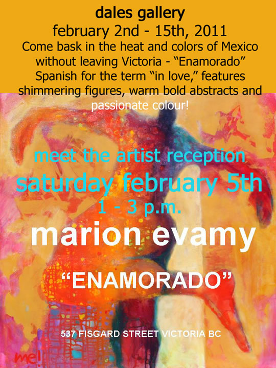 Marion Evamy - ENAMORADO Feb 2 - 15 2011