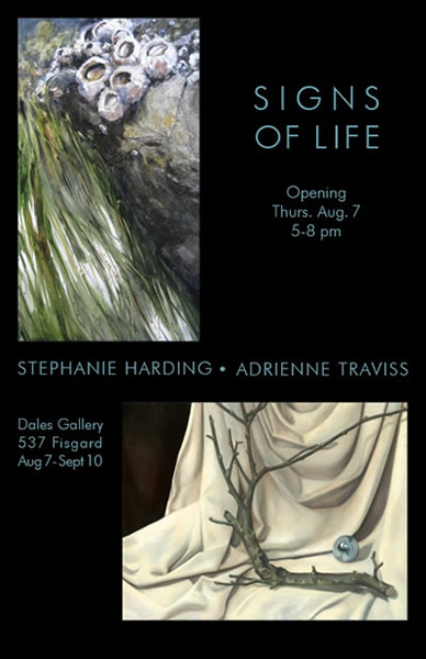 Adrienne Traviss & Stephane Harding - SIGNS OF LIFE Aug 7 - Sept 10 2008