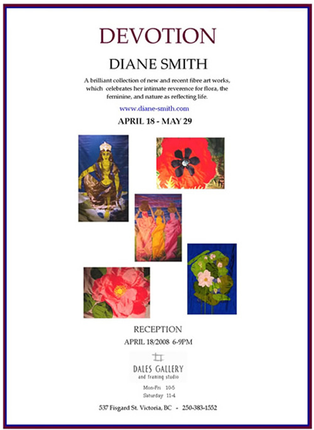 Diane Smith - DEVOTION Apr 18 - May 29 2008