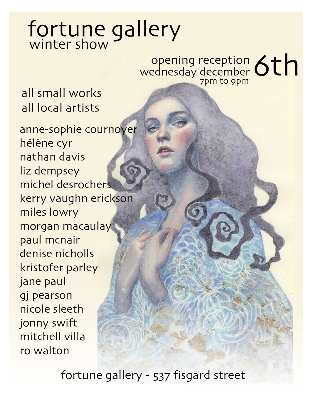 Winter Show 2017 -Various Artists - December 6th - December 24th 2017