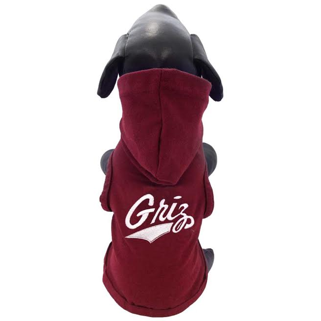 Show your full Griz flair with this fashionable fleece hoodie!