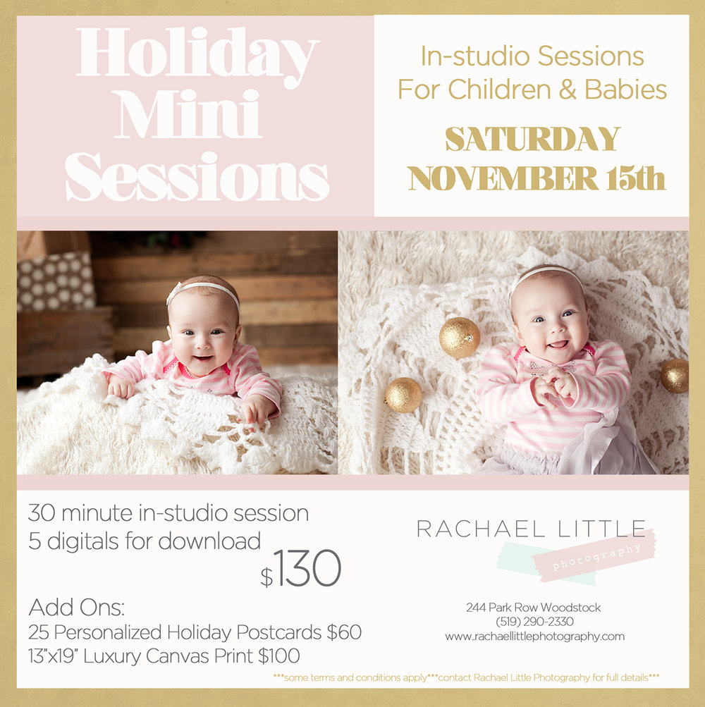 Christmas Mini Sessions 2014mailchimp