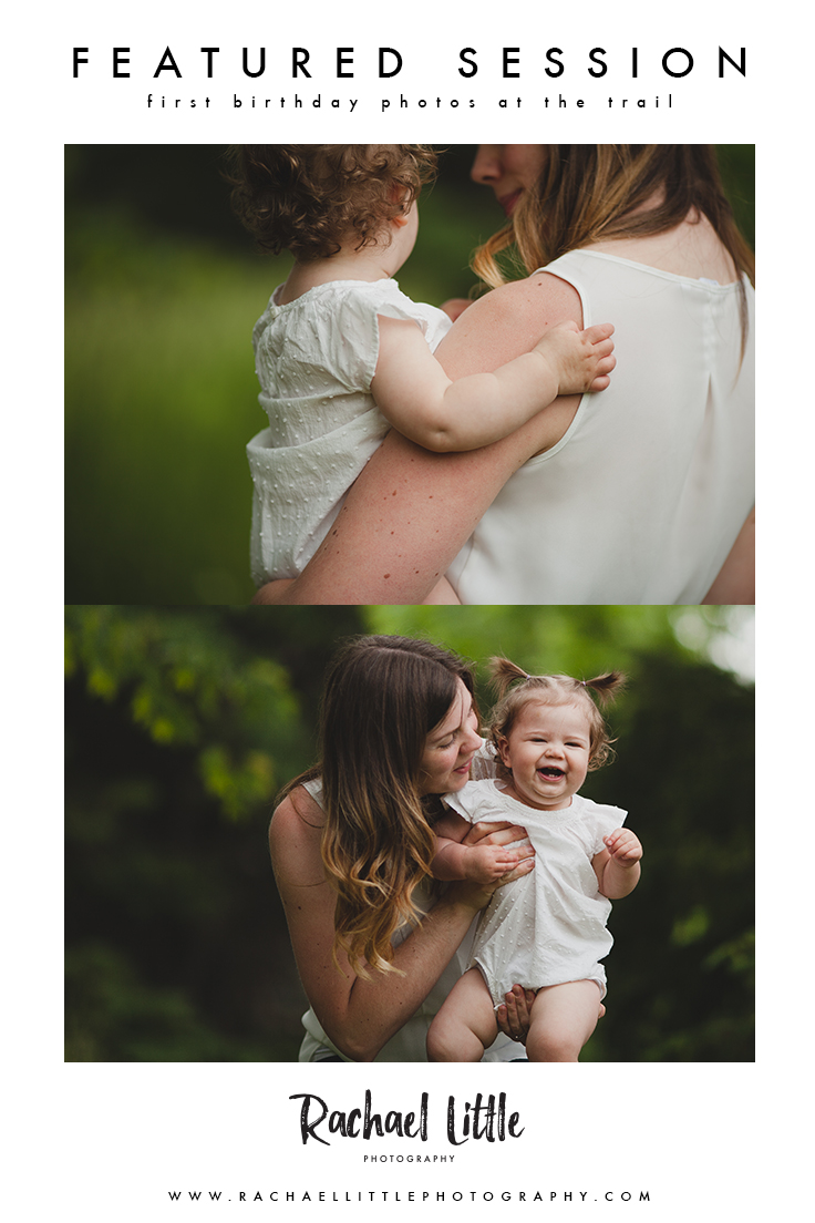 First Birthday shoot. Alternative to a cake smash! Just photograph the giggles and the little details of this wonderful age. Photographed at Roth Park in Woodstock Ontario by Rachael Little Photography.