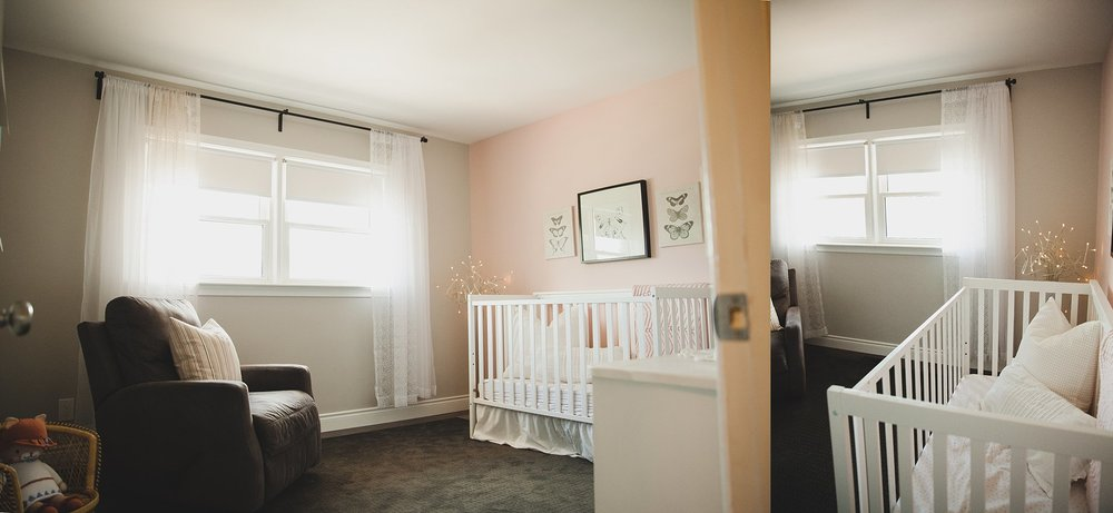 Contemporary baby nursery in Bungalo