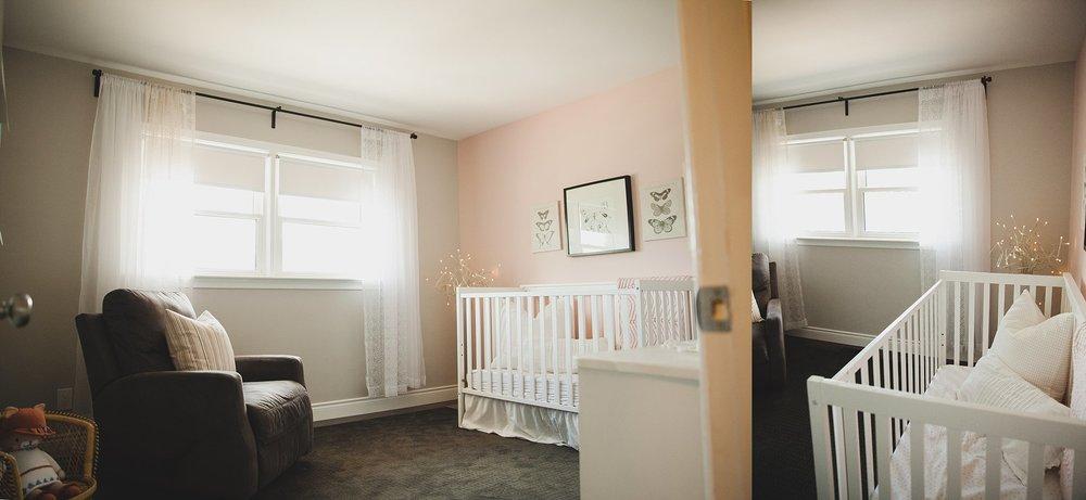 Contemporary baby nursery in Bungalo