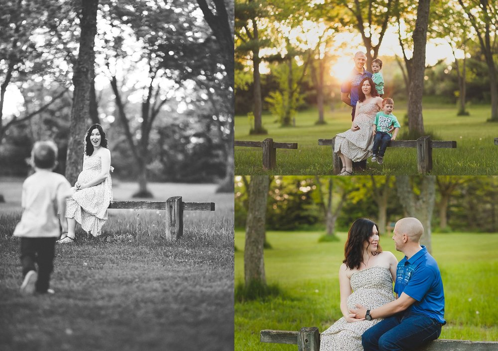 family maternity pictures