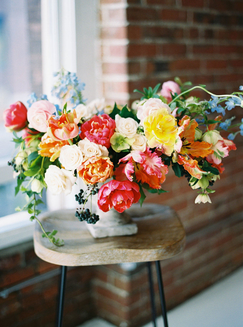 bright spring wedding flowers studio 3 floral seattle wa