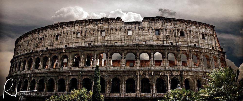 The Colosseum in Rome - photo taken in 2008.