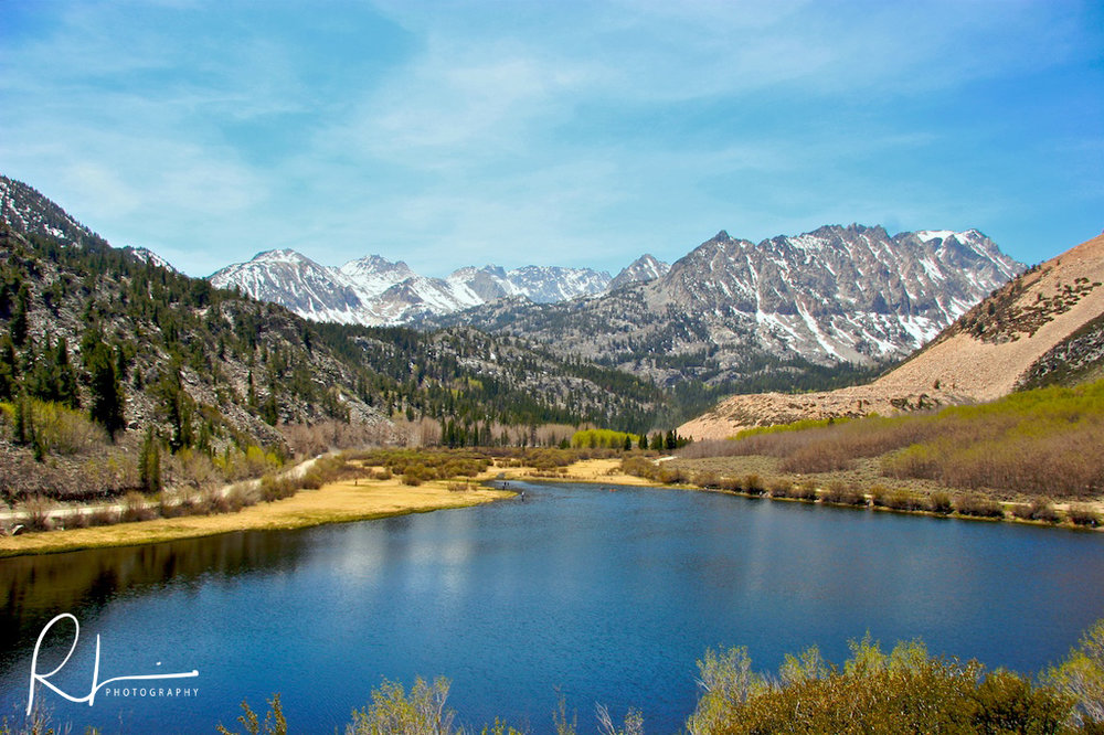 South Lake in the Sierra Nevada range