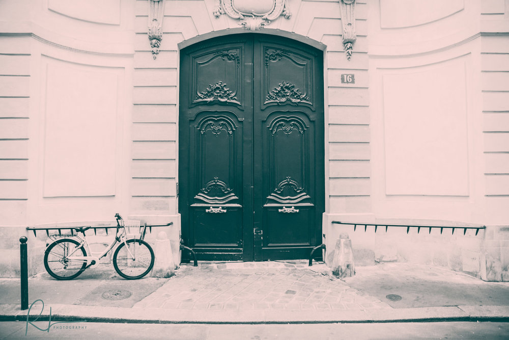 Door and a Bike