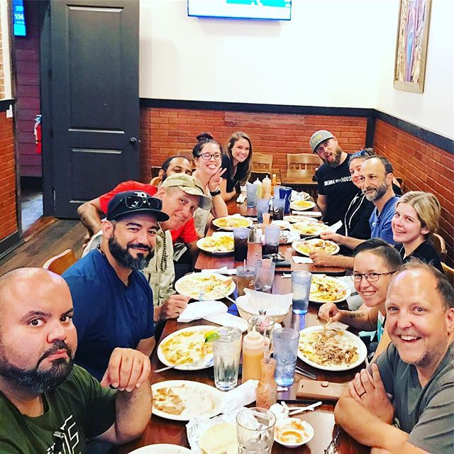 How do you celebrate the end of a long week? With the whole crew, some of the cast and some amazing Mexican food! 🌮🌯🥙🍜🥟🙀🏚🎬🎞🖥🎙📽☠️ #househunting #homedesign #flipgamestrong #orlandoliving #realestateinvestor #remodel #remodeling #realtor #househunting #homedesign #flipgamestrong #orlandoliving #remodel #remodeling #realtor #l4l #f4f #flip#florida #orlando #renovate #redo #realtor #realestate #demoday #orlandorealestate #homerenovation @fyi @AEtv @pilgrimmediagroup