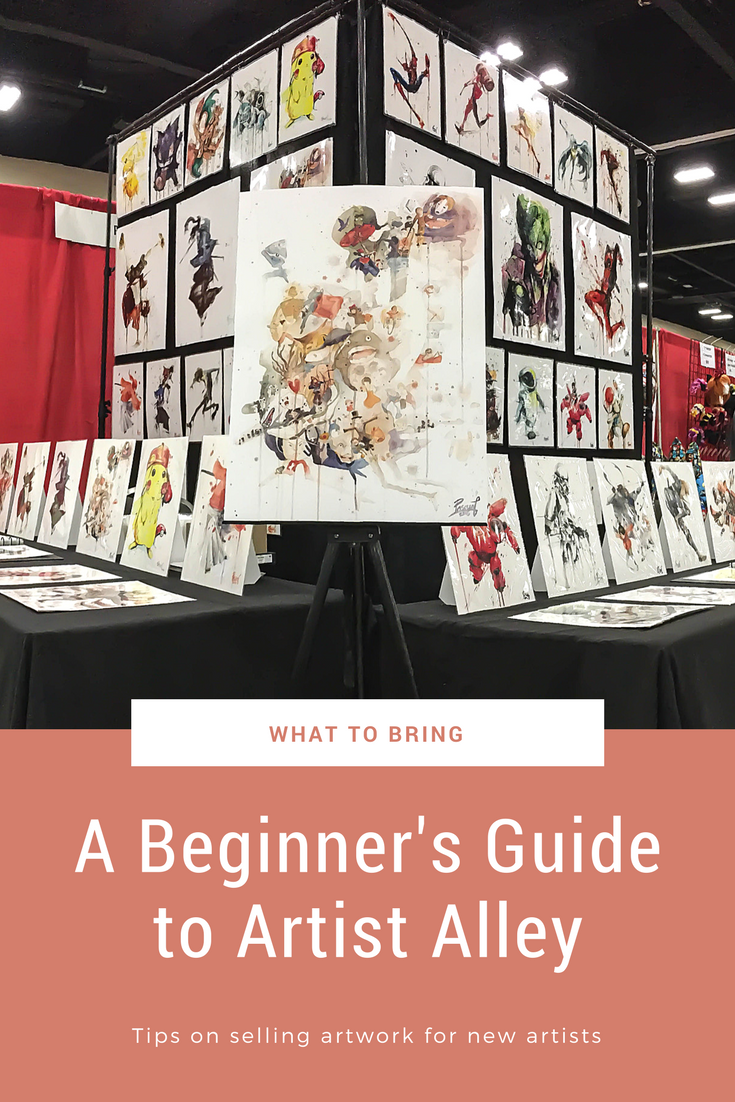 A Beginner's Guide To Artist Alley: What To Bring — Pascual