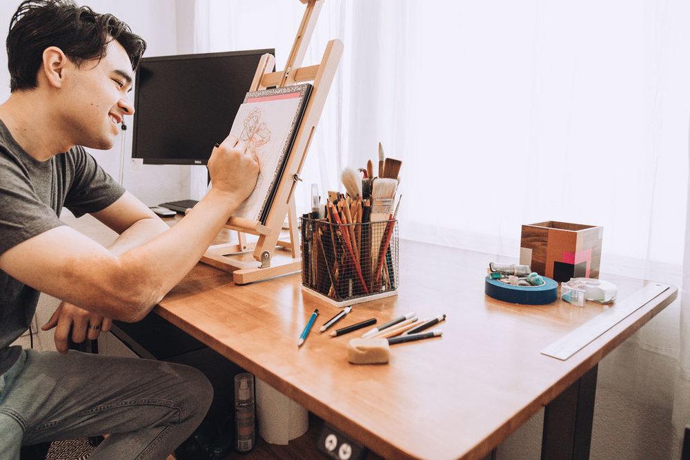 Meet the artist - GEOFF PASCUAL