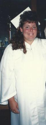 Me in 1989,  High School Graduation