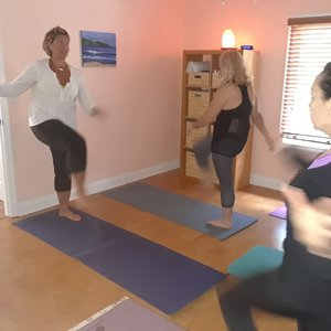 Me teaching Energy Exercises