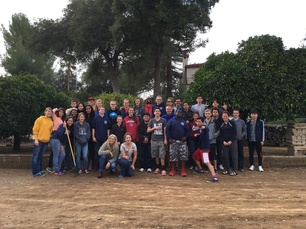 Service - Commitment to public service is a key characteristic of the Thunderbird graduate. Annual trips to harvest food and distribute it to the homeless are the culmination of a dorm student's exploration of civic duty.