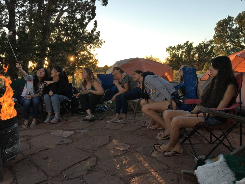 Travel - Annual dorm student camping trips to the Grand Canyon are a highlight of the school year.