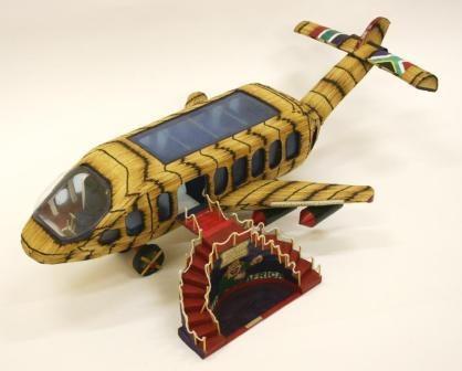 M Ndebele Aeroplane