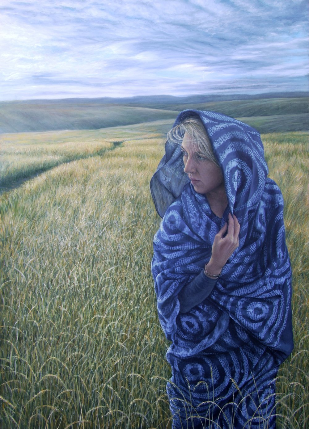Heather Gourlay-Conyngham -  Woman in Grasslands