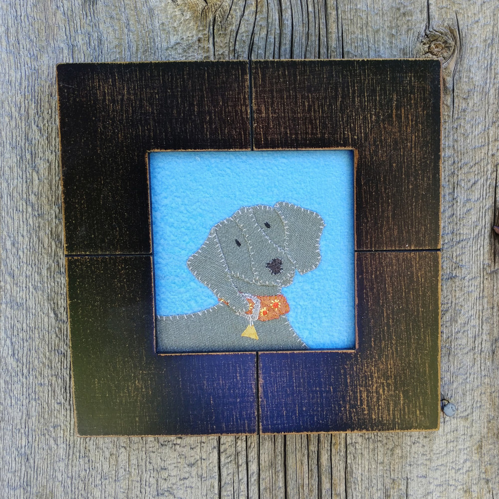 Weimaraner Wall Hanging…$40US(from $55)