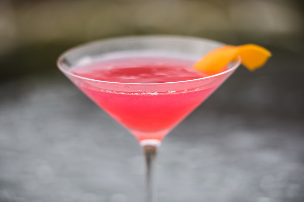 Cosmopolitan - From San Fransisco to Yorkshire, this citrusy treat is sure to get your tastebuds tingling.