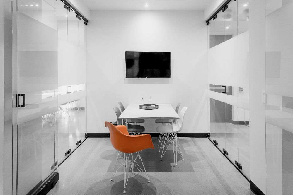 small meeting room - meeting room two, four and five comfortably accommodate up to five. two is in the galleri and four and five are more secluded. perfect for small team meetings or client presentations.Hourly: $50/hrHalf-Day: $200Full Day: $350After Hours: $150/hr (after 18:00)