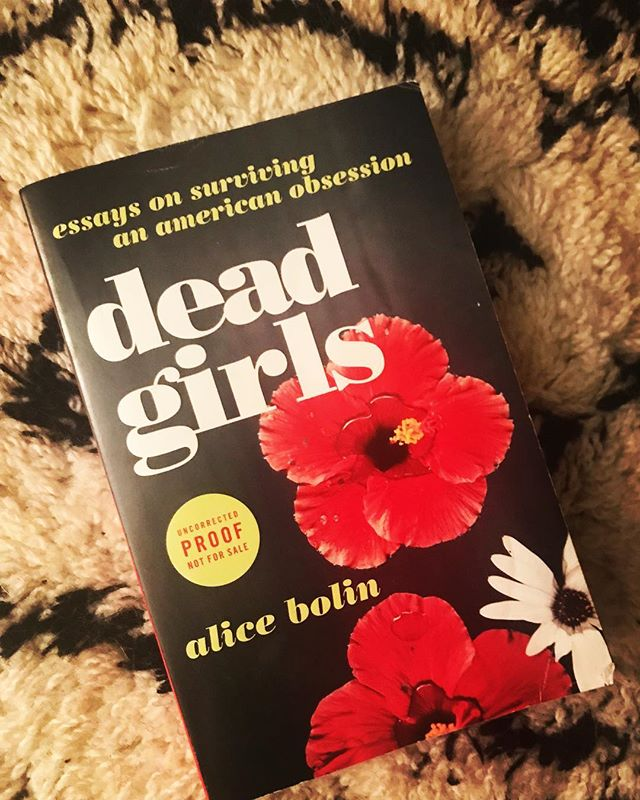"""""""Women are taught to expect violence."""" — Alice Bolin . . On this week's timely episode, @alicebolin, author of #deadgirls discusses #twinpeaks, missing white girl syndrome, and the gendered violence of our cultural obsession with #truecrime with @cameron_dezen_hammon. . . #writersofinstagram #womenwhowrite #bookstagram #belletrist #belletristbabe #womenwhopodcast #womenwriters #essay #cnf #feminism #twinpeaks #lanadelrey #nabokov #nabokovlolita #galleybrag #linkinbio #williammorrowbooks #harpercollins"""