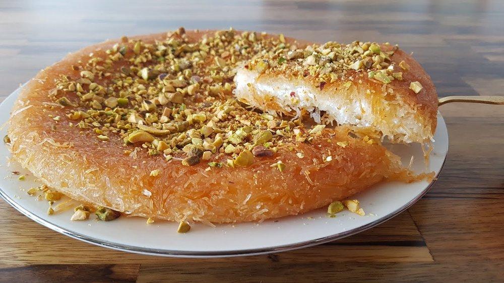 Kanafeh (arab dessert)