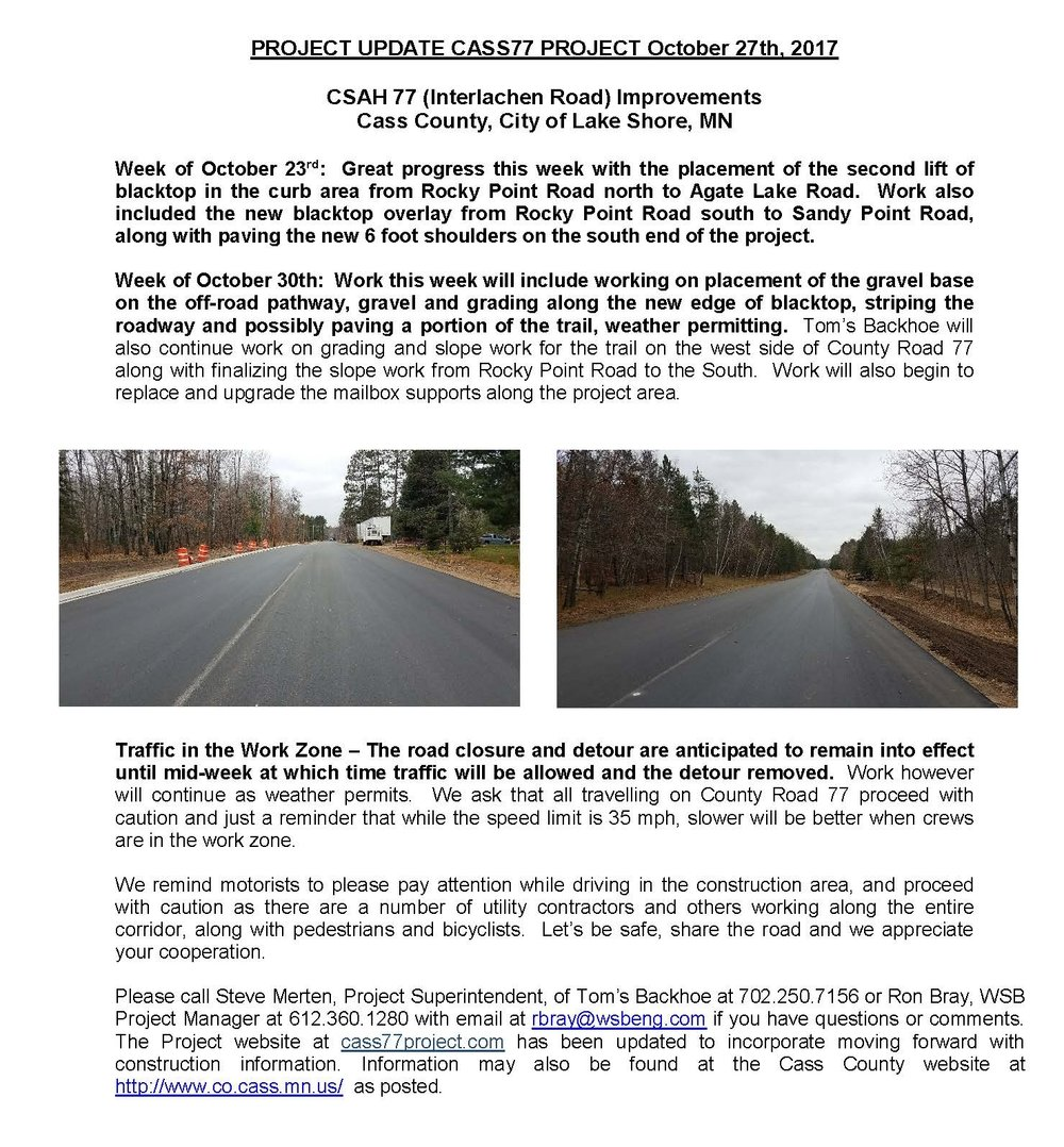 Cass County CSAH 77 Project update October 27th 2017 (002).jpg