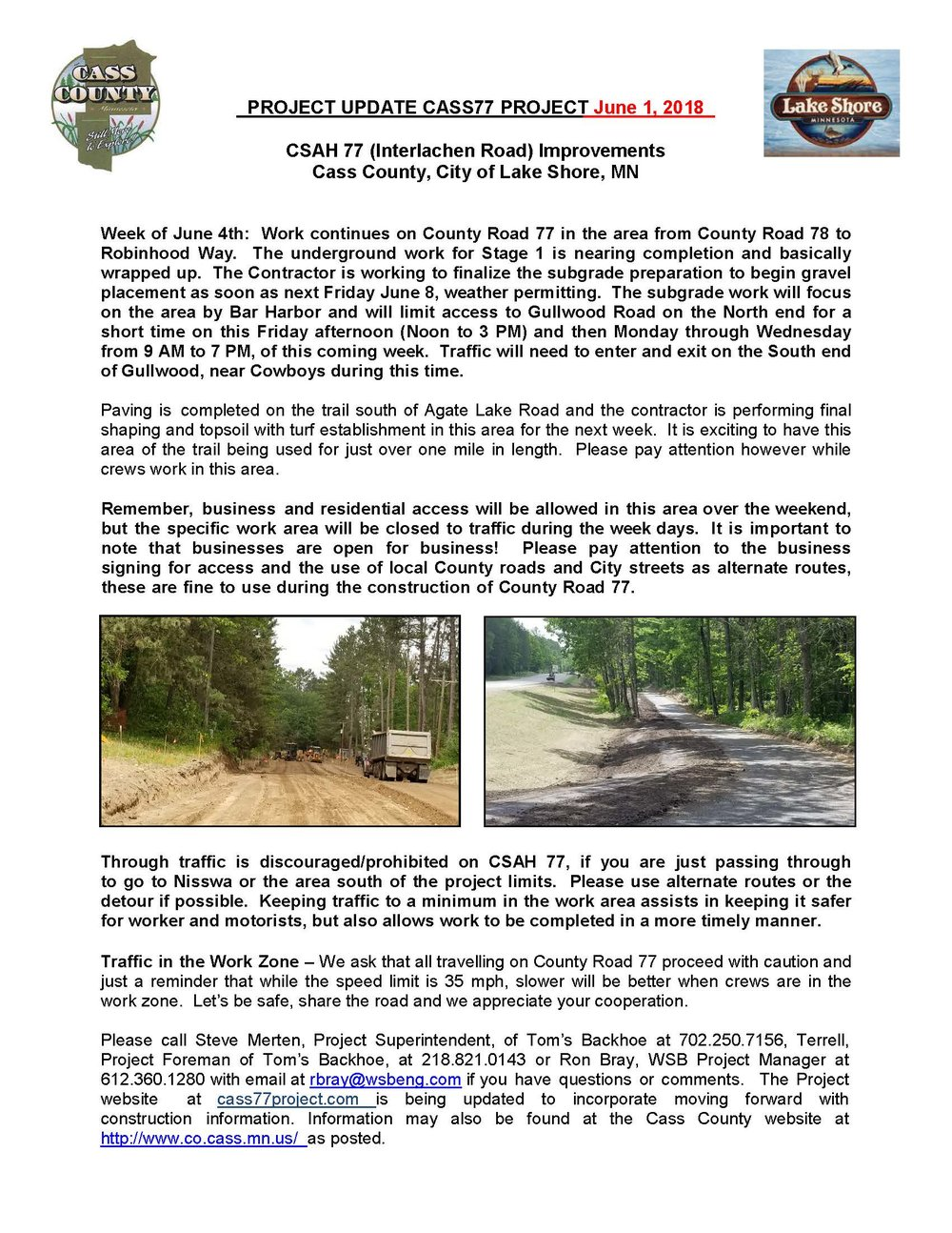 Cass County CSAH 77 Project update June 1 2018 (003).jpg