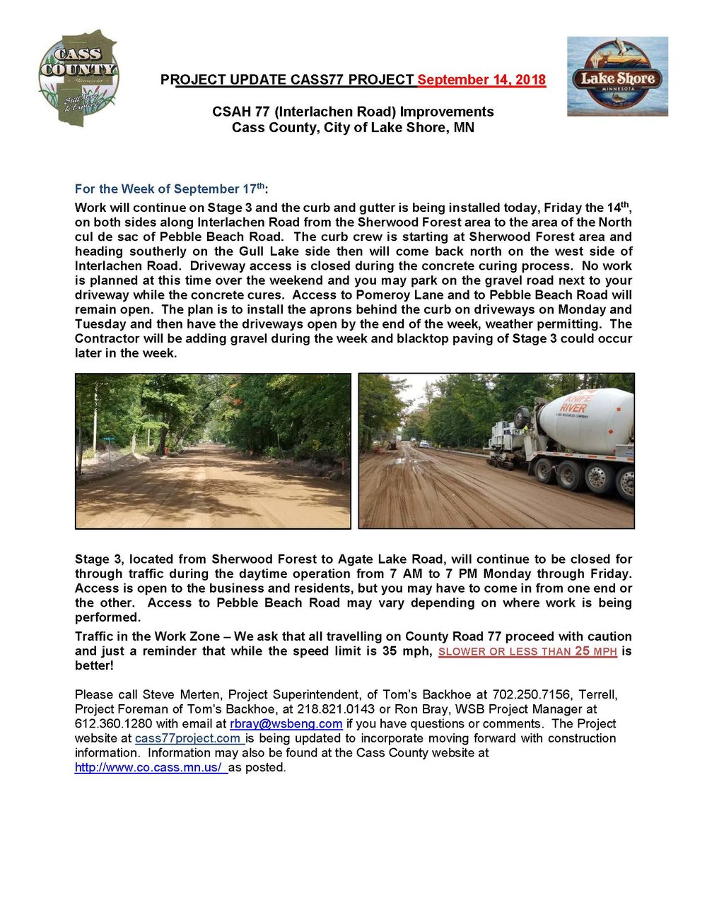 Cass County CSAH 77 Project update September 14th 2018.jpg