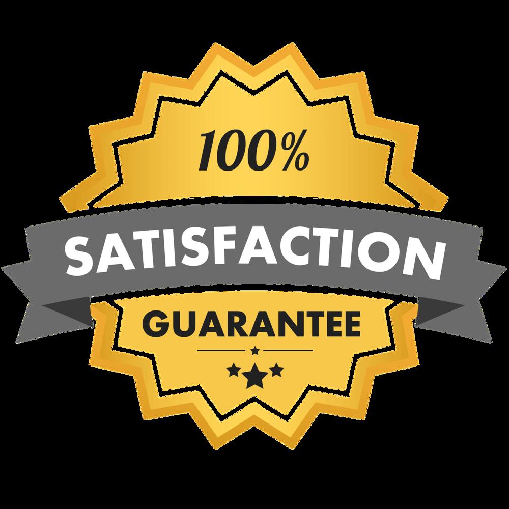 100% Money-Back Satisfaction Guarantee