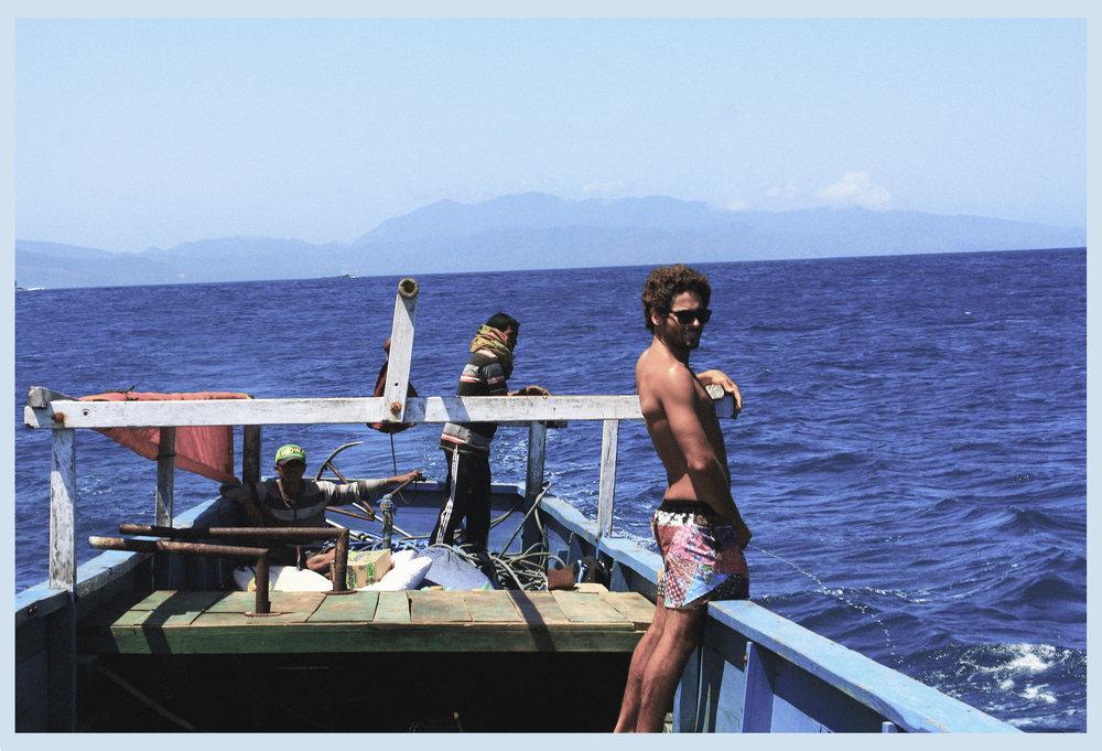 Marco Giorgi,irrigando o mar.