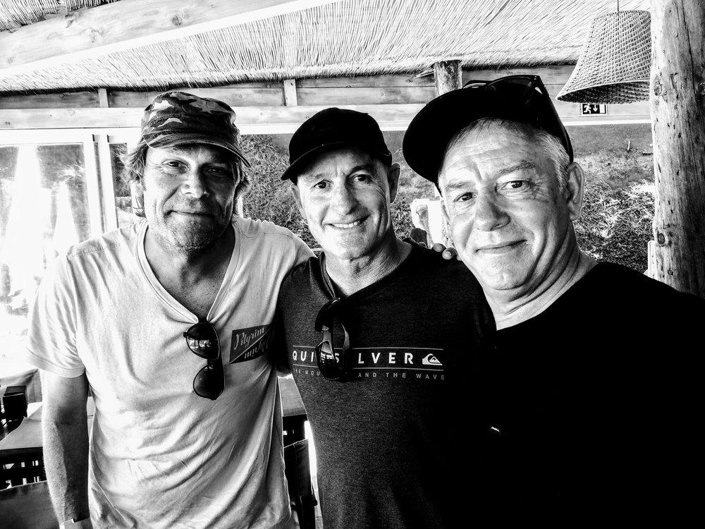 Jamie Brisick, Dave Macaulay e Rob Bain
