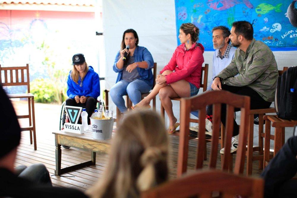 Mesa Redonda: Quebrando paradigmas e preconceitos no surfe